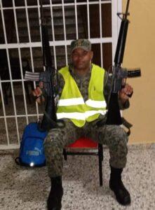 Adrian Zayas sargento mayor